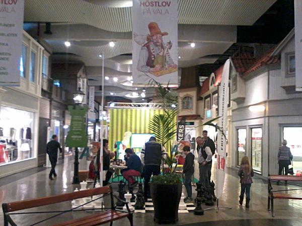 Höstlovsschack på Väla Centrum