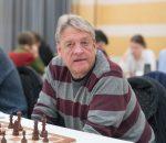 Staffan Thomasson. Schack 08:s Påskturnering 2018. Foto: Lars OA Hedlund