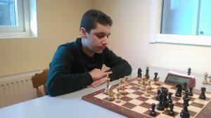 Mohamad Hamid, Åstorps SS blev 2:a i juniorklassen. Foto:Anders Hansen