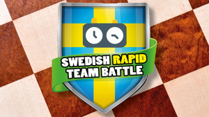 logga Swedish rapd chess team battle